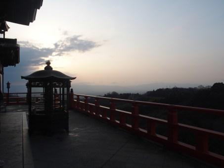 la vue du temple