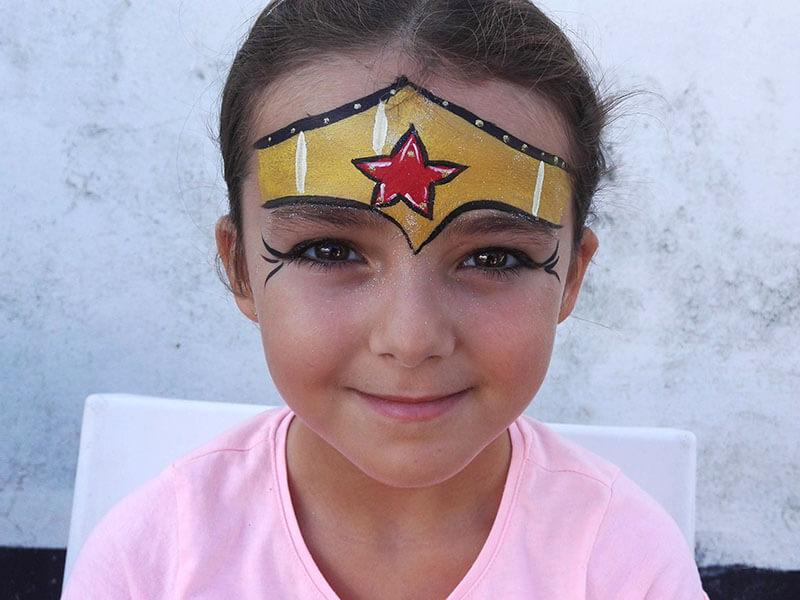 animation maquillage enfant la rochelle