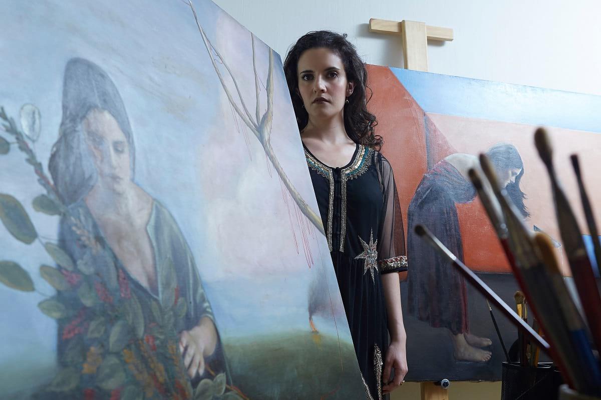 Artista Rebeca Camarena
