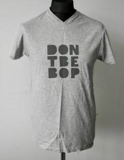 Dark Grey on Light Grey T-shirt — Sizes M & L