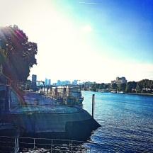 La Seine à Clichy