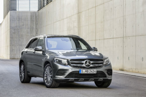 Mercedes GLC hybride _ photo Mercedes