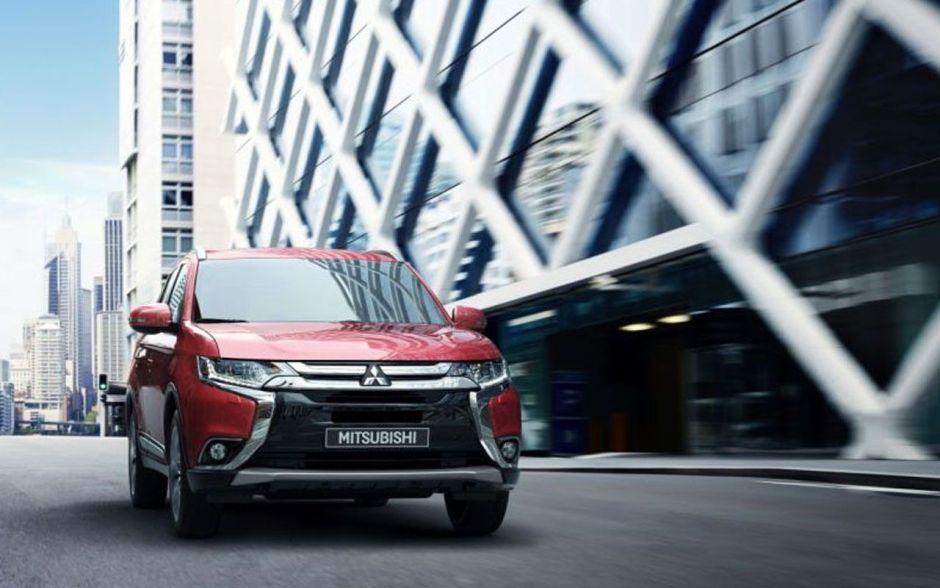 Mitsubishi Outlander _ image Mitsubishi