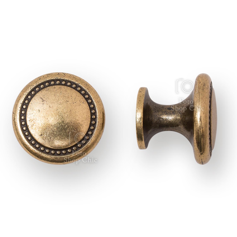 Mital, il pomolo dal design italiano. Pomelli In Ottone Finitura Bronzo Invecchiato Per Mobili Stile Vintage Shabby Contemporaneo Le Chic Arredamenti