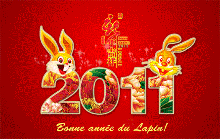 Nouvel An chinois 2011 année du lapin