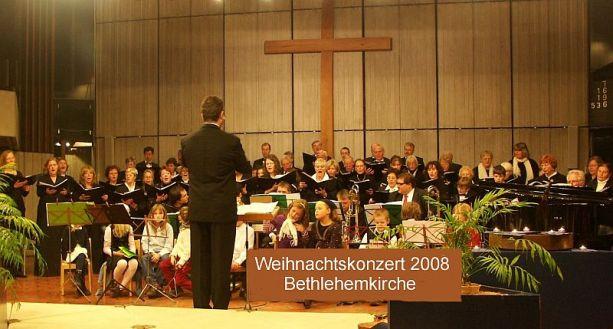 Weihnachtskonzert 2008 in der Bethlehemkirche