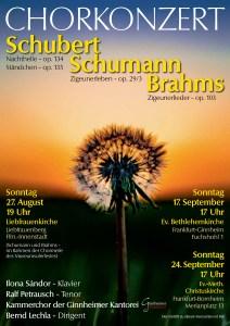 Chorkonzert - Kammerkonzert