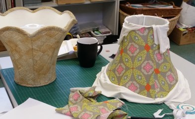 Hand-Stitched Traditional Lampshades