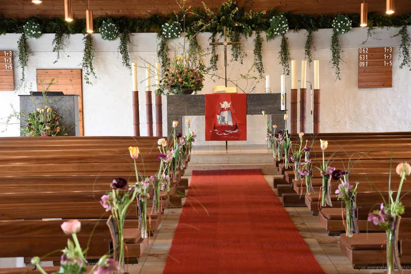 Kirchenschmuck Hochzeit Kirchendeko Hochzeit