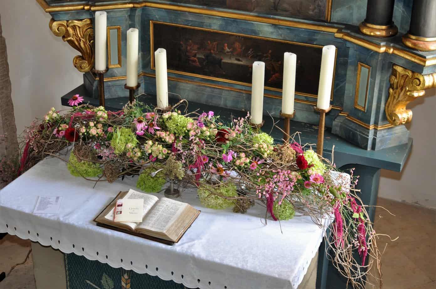Kirchenschmuck  Lechner Floristik
