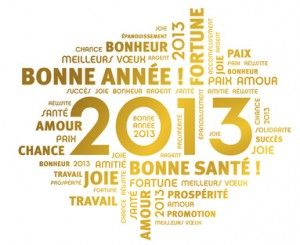Bonne année 2013 du Costa Rica