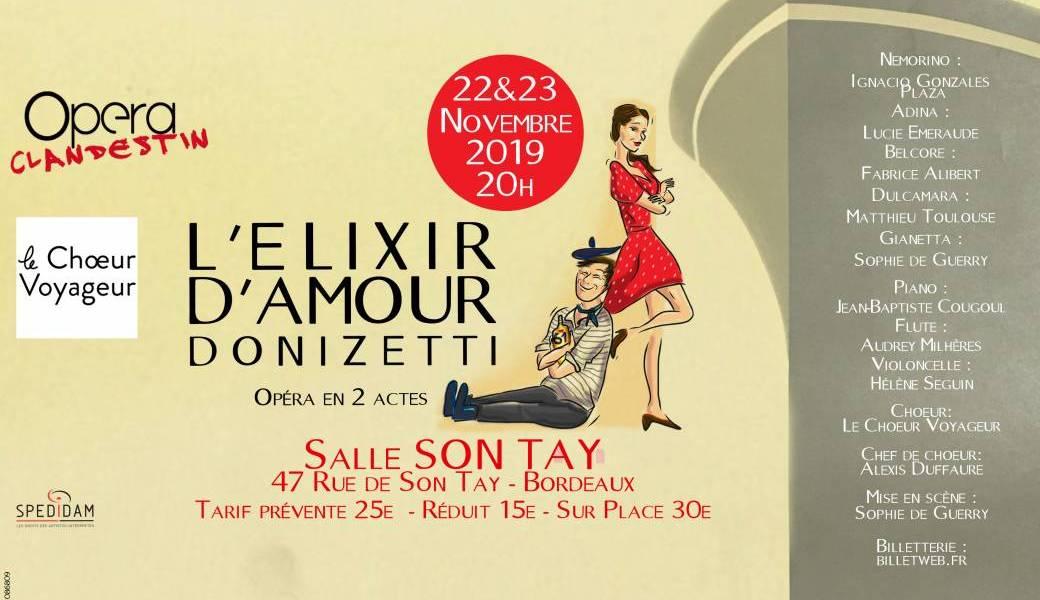 L'Elixir d'Amour – Donizetti