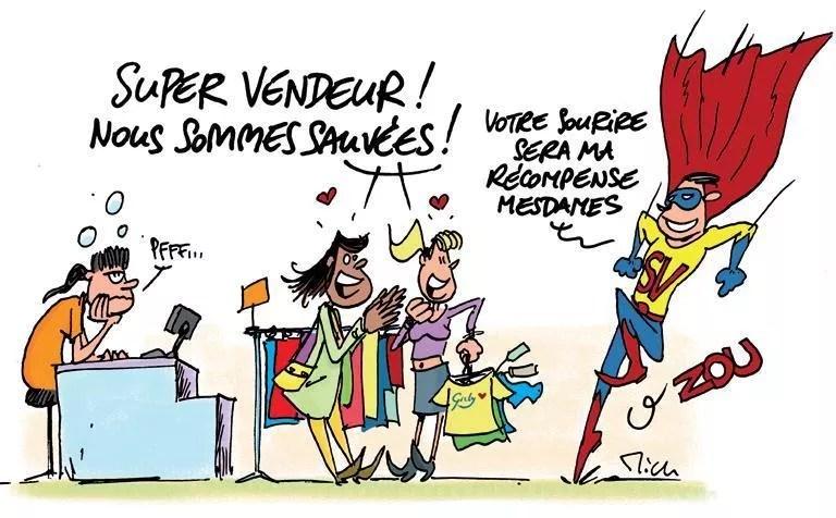 vendeur-magasin