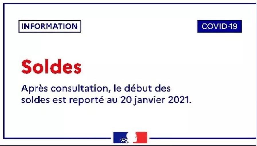 report des soldes 20 janvier