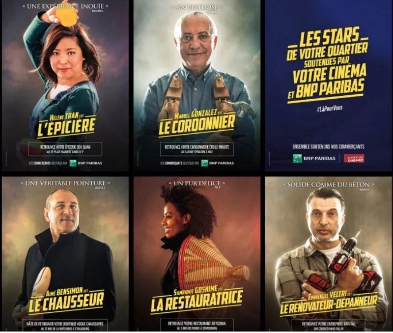 Commerçants à l'affiche Paris