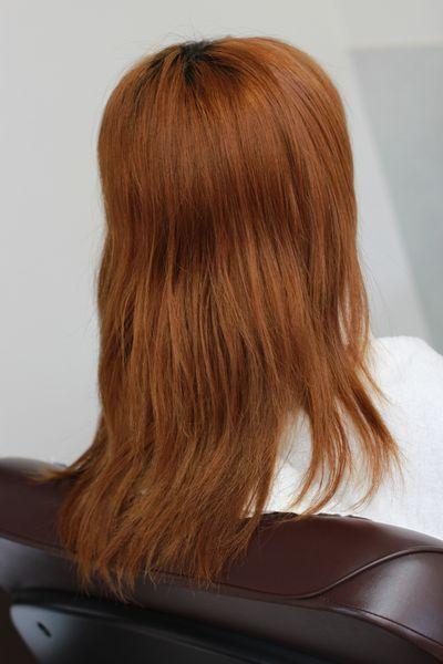 ブリーチ毛