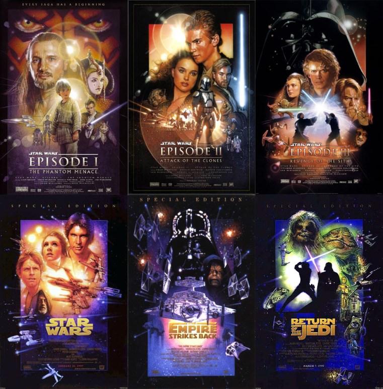 Star Wars saga Aff Struzan