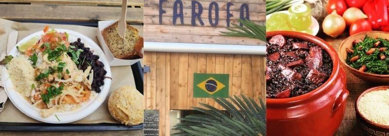 On vous déclare sur l'honneur que la meilleure adresse à Marseille pour retrouver les saveurs de la cuisine brésilienne, est chez Farofa. Venez découvrir ou redécouvrir son fameux tapioca, un vrai régal ! Vous serez servi rapidement et copieusement dans un décor dépaysant. Un coup de cœur pour ce restaurant ? Ils vous accompagnent dans vos évènements, rendez-vous sur leur site pour plus de renseignements !