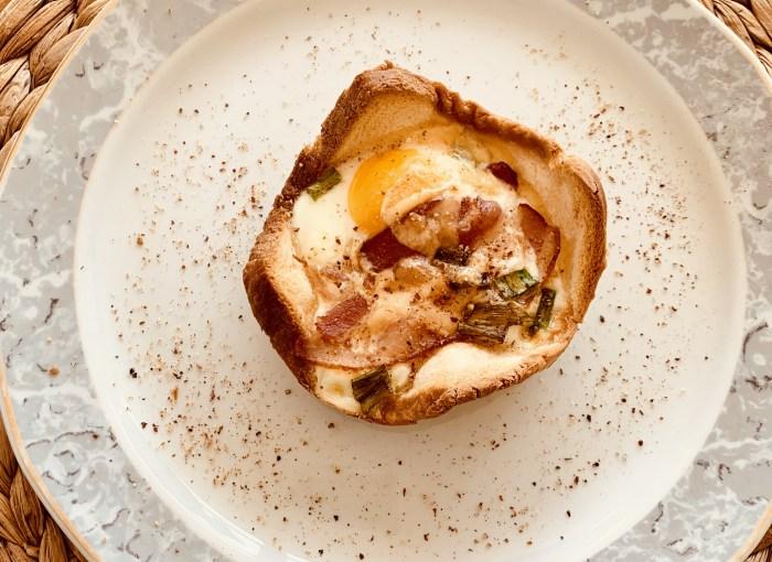 Schinken-Eier-Muffin