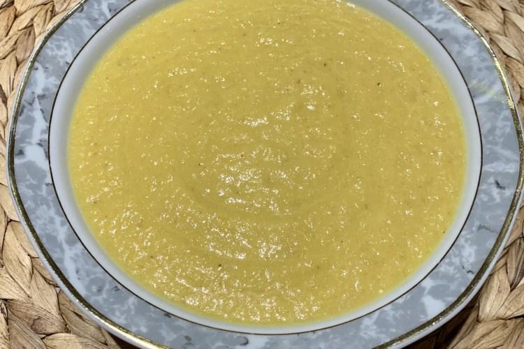Apfel-Sellerie-Süppchen