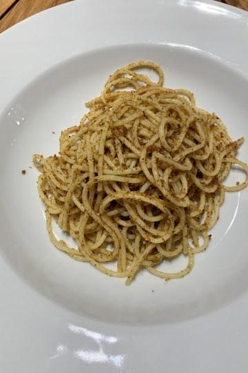 Spaghetti ammuddicata
