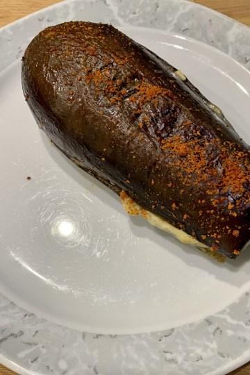 Marinierte Aubergine vom Grill