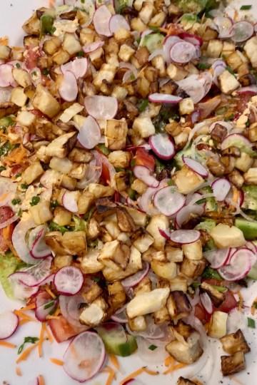 Sellerie-Radieschen Salat