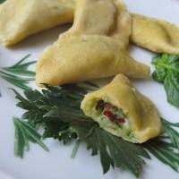 Turning sweet lupin flour into Ravioli