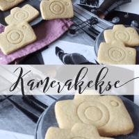 Kamera-Kekse backen für eine Foto-Ausstellung