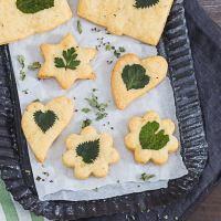 Rezept: Käse-Kräuter-Kekse