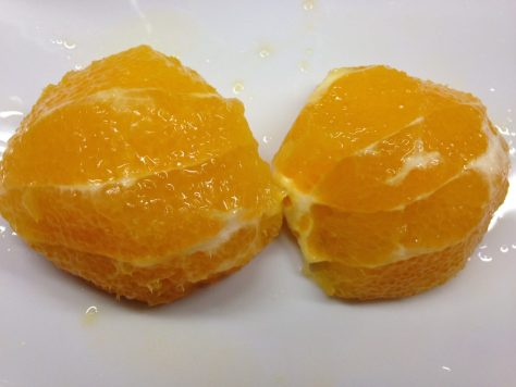 Orange filetieren