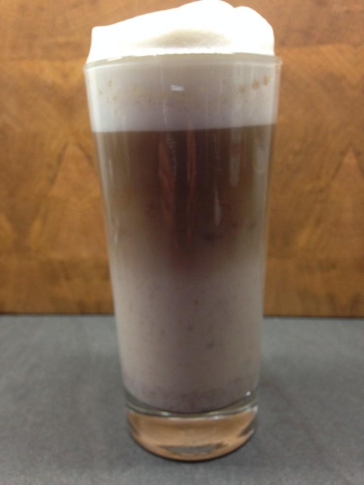 Ingwer Latte mit Chai Gewürzen