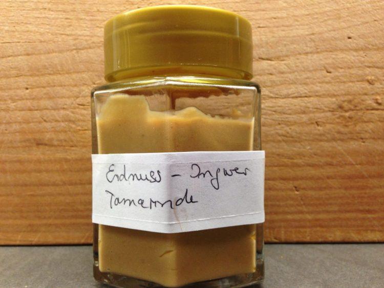 Erdnuss Ingwer Tamarinden Chili Sauce
