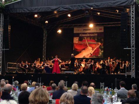 Klassiknacht EurOper im Rosengarten