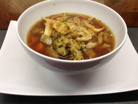 Asia Gemüsesuppe