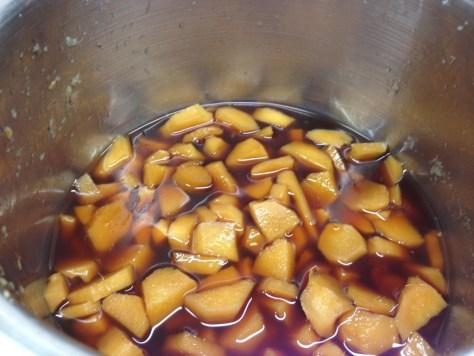 Kandierter Ingwer - Ingwer weich kochen