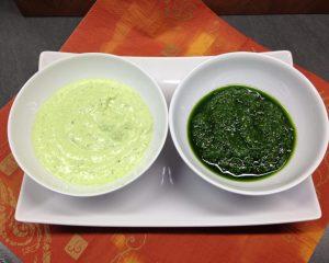 Bärlauch Pesto und Bärlauch Ziegenfrischkäse