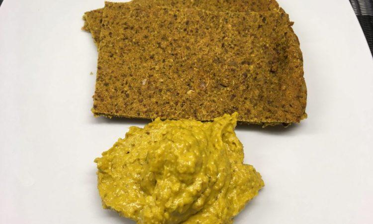 Bananen Brot mit Curry Dip