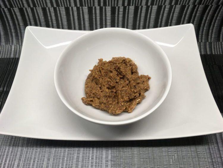 Cranberry Mohn Paste mit Aprikosen und Zimt