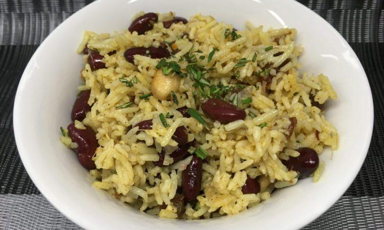 Kidneybohnen Reis Salat