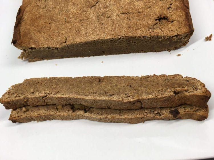 Bananen Kokosnuss Ingwer Brot Frühstückskuchen