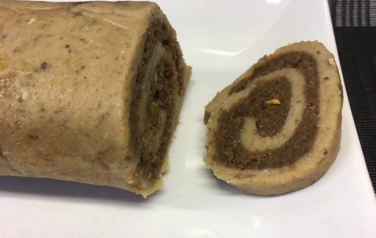 Mandel Mohn Kuchen Rolle