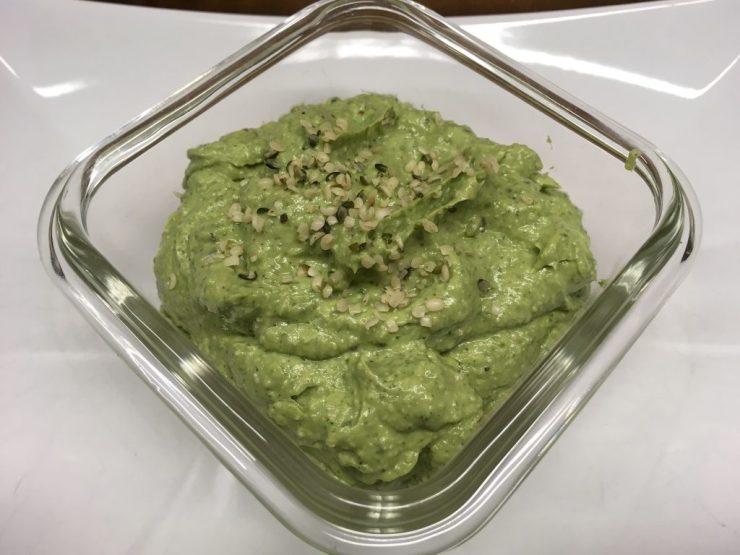 Avocado Hanf Pesto Dip