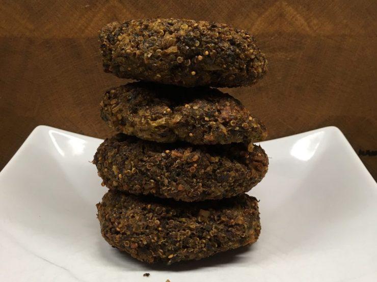 Quinoa Grünkohl Buletten
