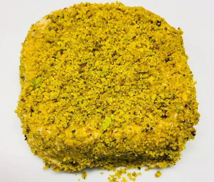 Cashew Käse mit Pistazien und Minze