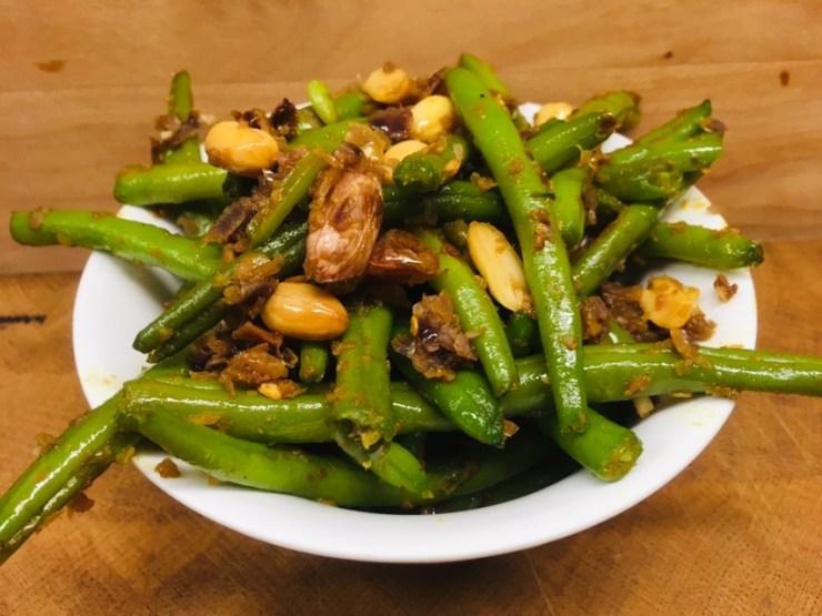 Grüne Bohnen mit Chakalaka