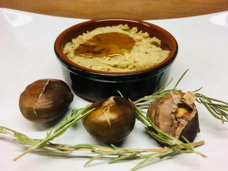 Maronencreme mit Rosmarin und Honig