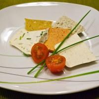 Vegäse - fünf vegane Käsevariationen