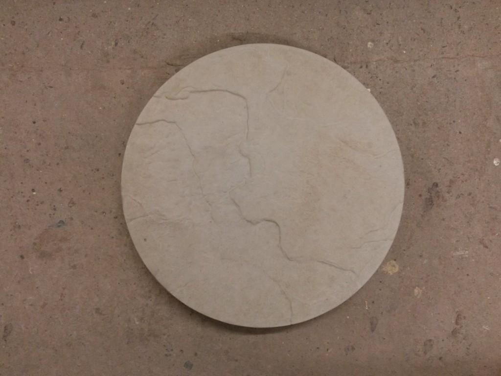 Circular Riven Stepping Stone