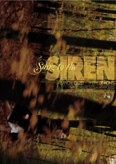 """Affiche de """"Song to the Siren"""" - Moyen métrage d'Arnaud Delporte-Fontaine - Créa A.Charron"""